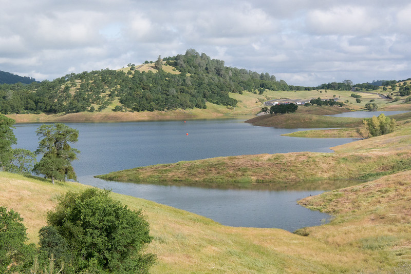 New Melones is a scenic place for a tri.