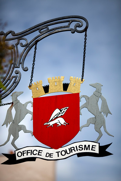 Coat of arms of the city of Vannes, Brittany, France