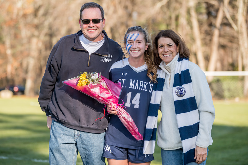 Girls' Varsity Soccer Senior Game 11.9.19