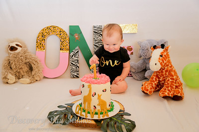 Olivia Garay 1st Birthday