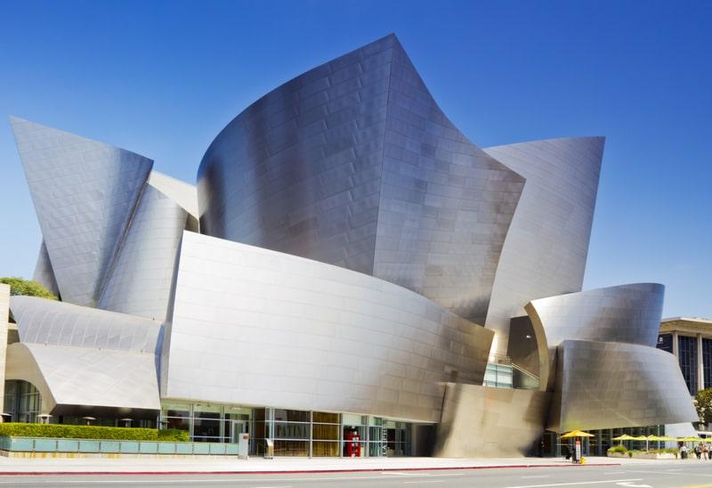 walt disney concert hall - 3 days in los angeles