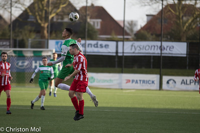Baronie - EHC/Heuts (19-1-2020) : uitslag 6-0 Foto's Christon Mol