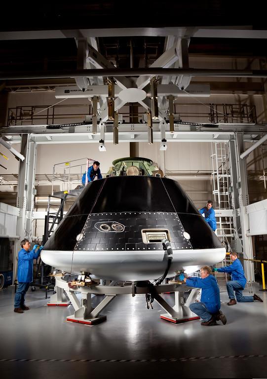 . Orion Assembly. NASA handout photo