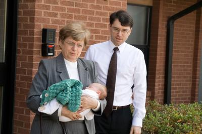 set 1 John Kelley baby blessing Nov 2, 2008