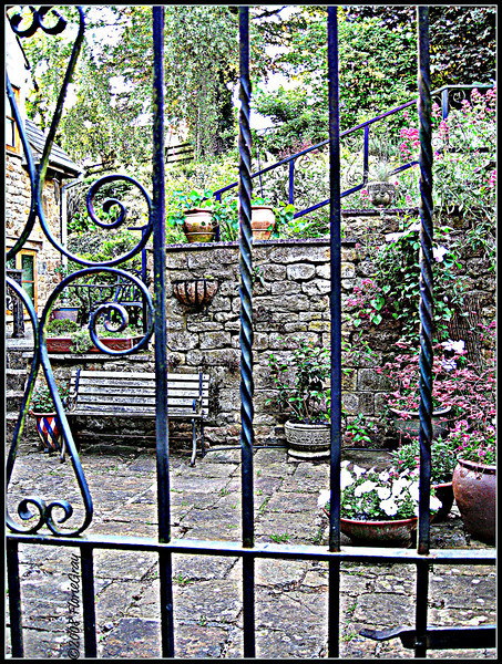 Through the Garden Gate     ©2008 FlorieGray