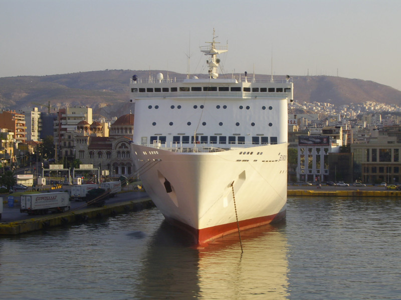2012 - F/B ELYROS in Piraeus.