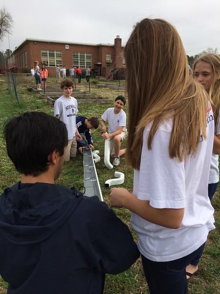 Grade 8 Planting Field Trip