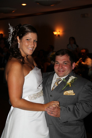 Melissa and Adam Zehr wedding reception 7-28-12