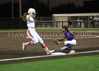 Softball BHS vs Salado 4-25-19l