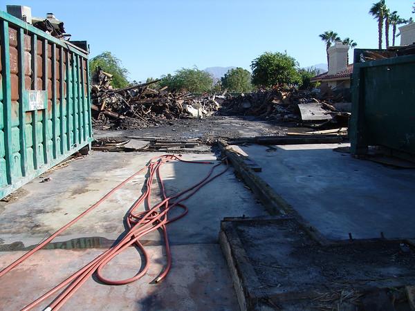 Woodhaven Fire Demolition