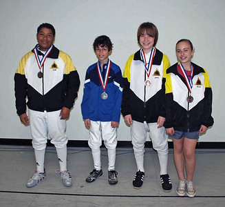 Youth 12 & Under Mixed Foil & Epee