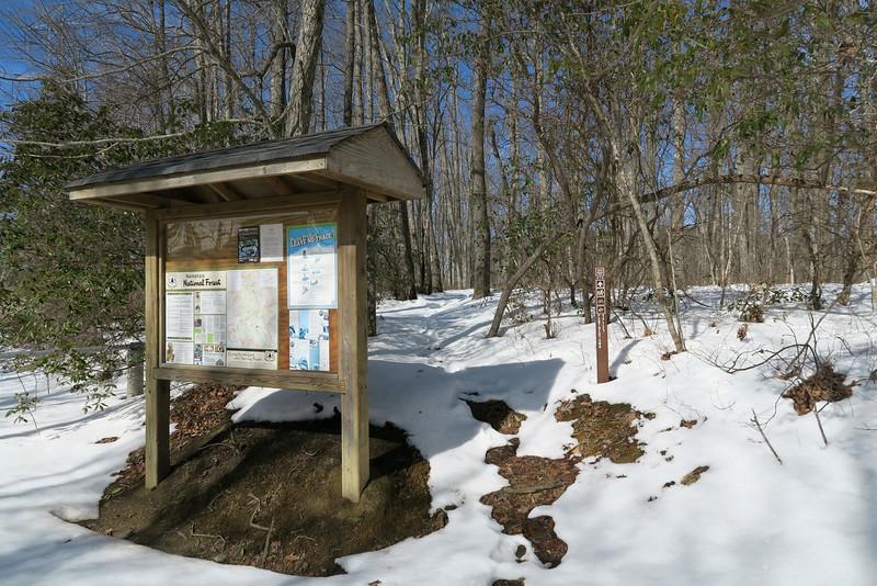 Panthertown Valley - Cold Mountain Trailhead