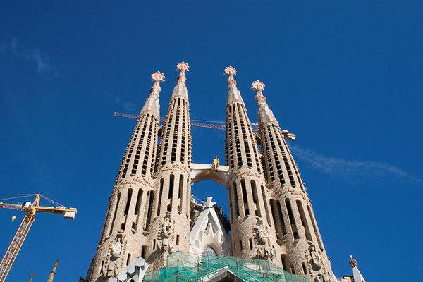 Barcelona, Spain: Sagrada Familia