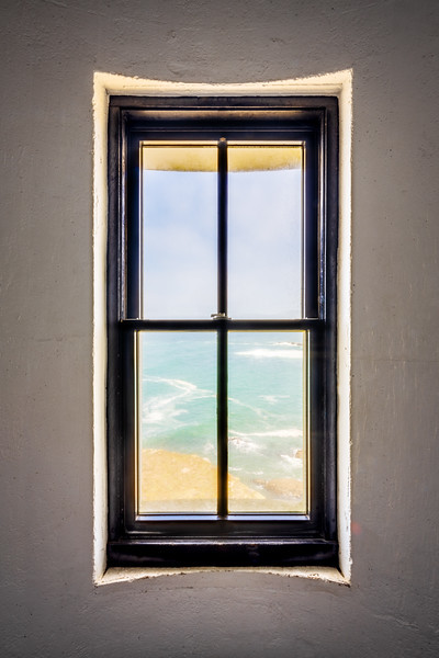 Lighthouse Window, Study 3, Point Arena Lighthouse