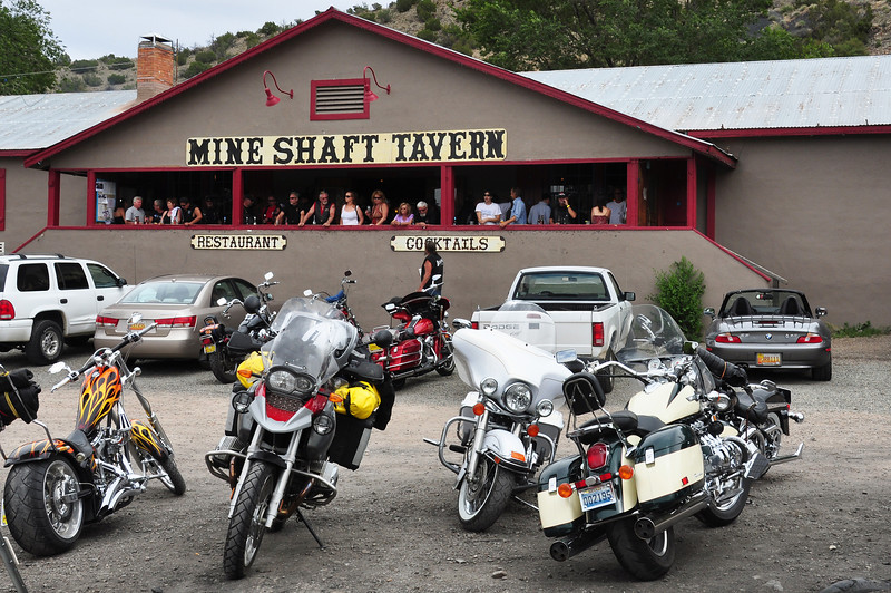 The Mine Shaft tavern in Madrid, NM.