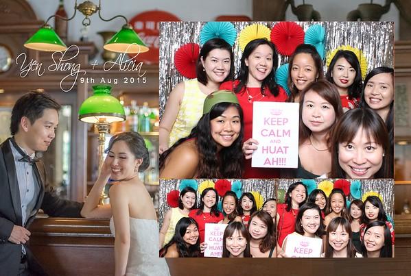 Yen Shong + Alicia Photo Booth Album