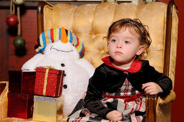 Izabell. Christmas 2010.