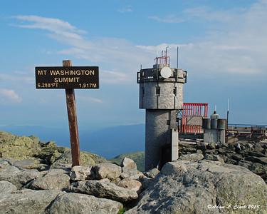 Mt. Washington Observatory Volunteer Week - July 2013