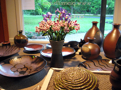 Pine Mills Pottery Showroom