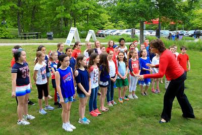 Federal Furnace Chorus at Pilgrims Baseball  6/8/17