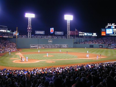 2003 Aug Fenway Park & The  Red Sox