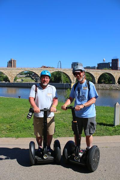 Segway Tour of Minneapolis - 7/30/15