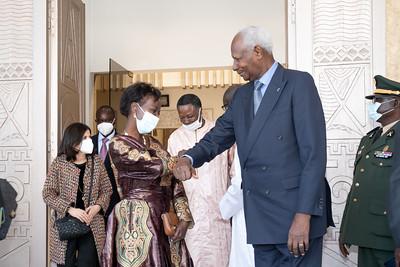 Visite SEM Abdou DIOUF - Sénégal