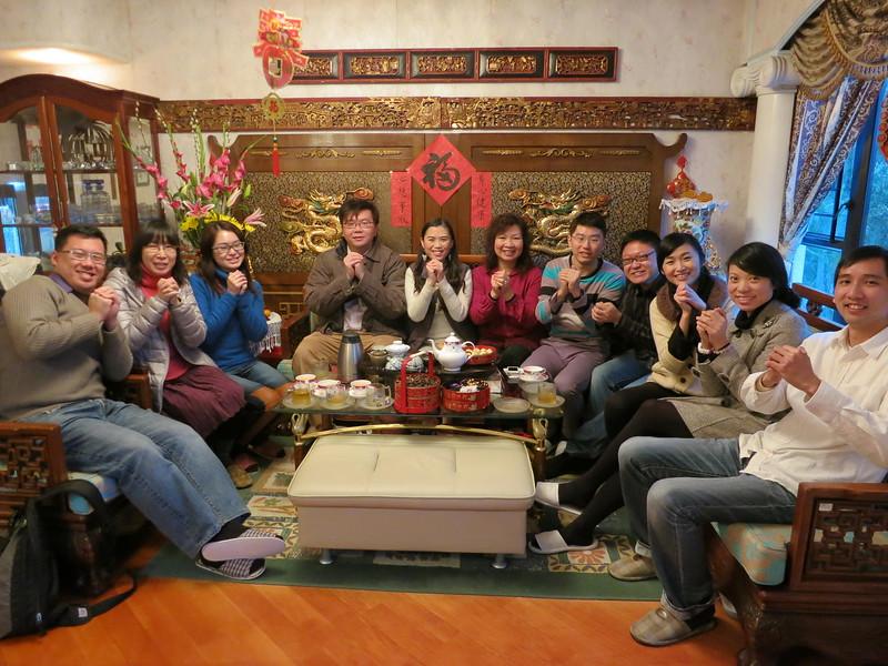 20120125 - 初三團拜 (PP Sen Angela Home)