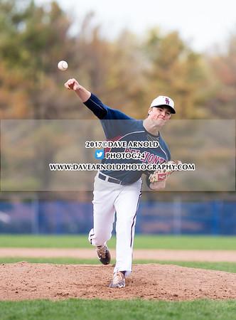 4/24/2017 - Varsity Baseball - Belmont Hill vs Milton Academy