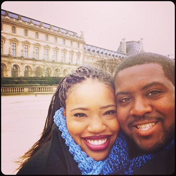 . Michael Myvett and his fiancee, Mattison Haywood. The two were chaperones on the bus carrying high school students to Humboldt State University when it was hit by a FedEx truck on April 10, 2014.