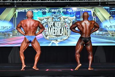 Men's Bodybuilding Masters 40+ LW