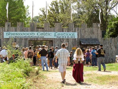 Sherwood Forest Celtic Festival 2012