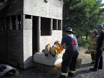 FIRE FIGHTER SURVIAL TRAINING - SCHUYLKILL COUNTY FIRE SCHOOL 8-8-2009
