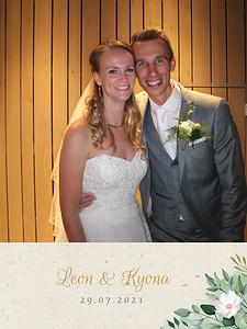 Bruiloft Leon en Kyona