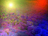 Abstract colorful photograph painting background.