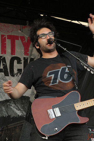 Motion City Soundtrack @ Vans Warped Tour 2013