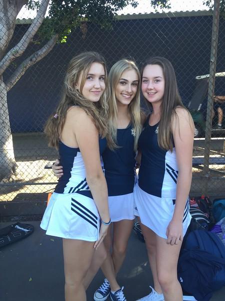 2015 Girls Tennis