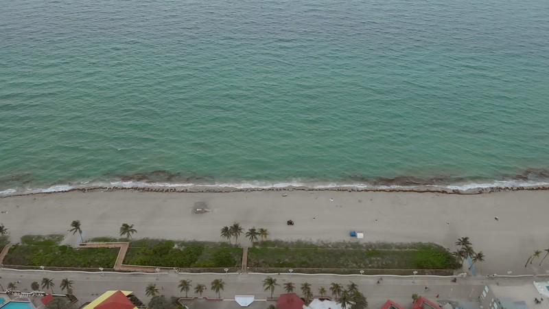 Aerial Beach Ocean sand destination