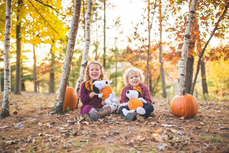 Fall Family Pictures (attempt)