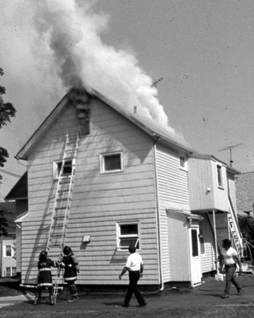 Old Fire Photo, 1900-1980s