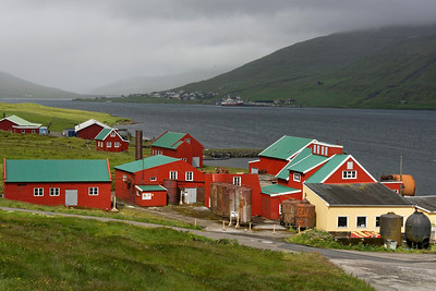 Streymoy - Whaling Station Vid Air
