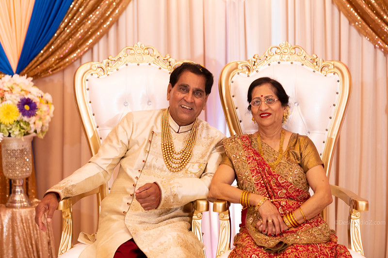 Daxa and Jayprakash Patel 50th Wedding Anniversary