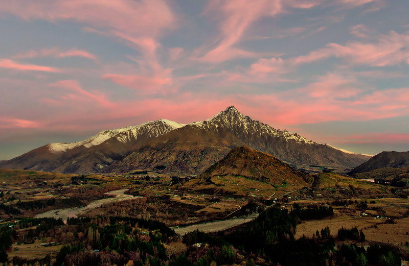 Over the Remarkables