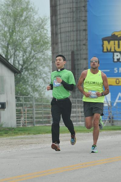 Course Mile 13
