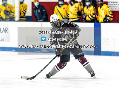 1/18/2021 - Girls Varsity Hockey - Arlington vs Lexington