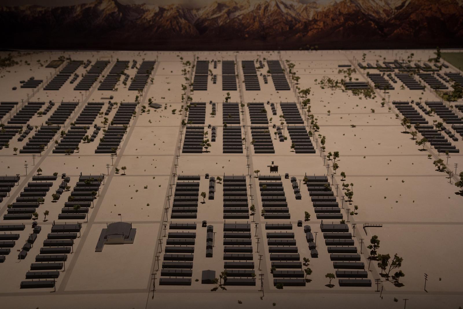 Manzanar layout