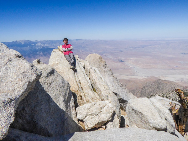 San Jacinto Peak via Devil's Slide Trail, Sept 8, 2018
