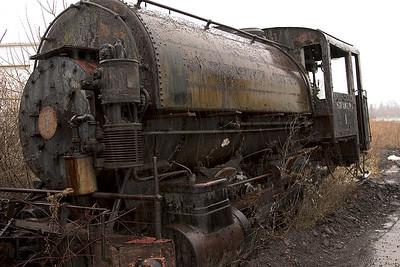 Old Abandoned Yard Locomotives