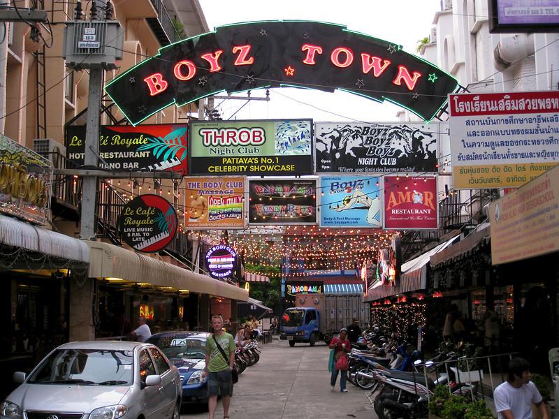 Pattaya - July 2008 Boyz Town in Pattaya