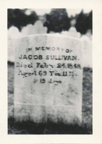 Headstone (Jacob Sullivan - West Minsiter, Maryland).jpg